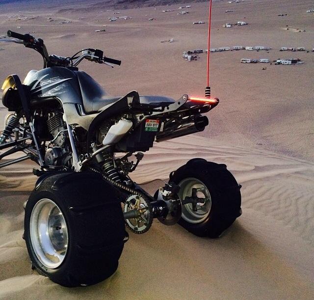 Yamaha 660 raptor led grab bar aloadofball Choice Image